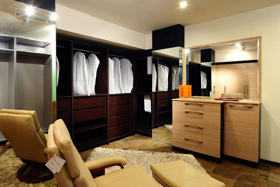 Wardrobes at Kitchen by Design Showroom